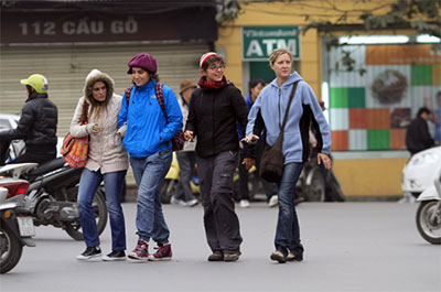 Foreign tourists to Vietnam surge in January
