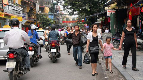 Hanoi expands pedestrian areas in Old Quarter