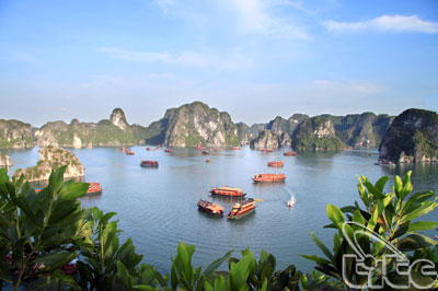 USAID funds the program of conserving Ha Long Bay