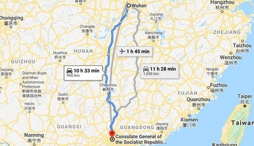 Wuhan to Guangzhou