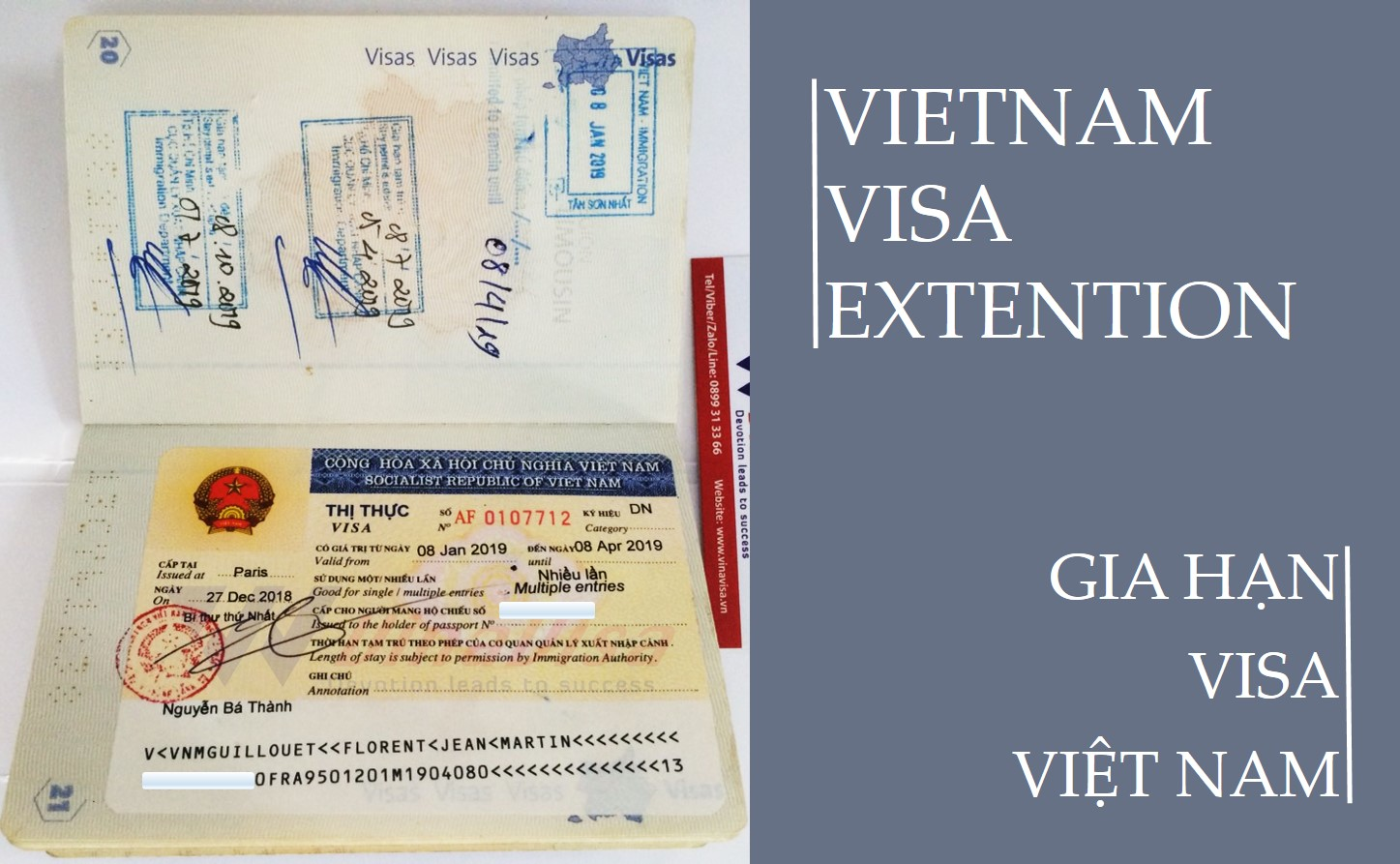 How to get Vietnam Visa Extension for my special reason