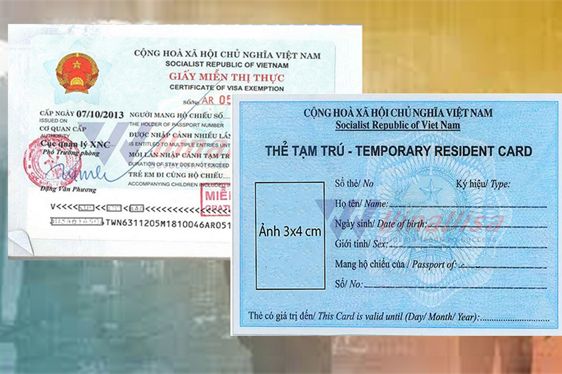 Who can get a Vietnamese Temporary Resident Card?