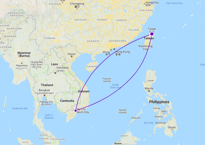 Update information on flights for Vietnamese from Taiwan to Vietnam