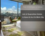 What is the best hotel I need during quarantine time?