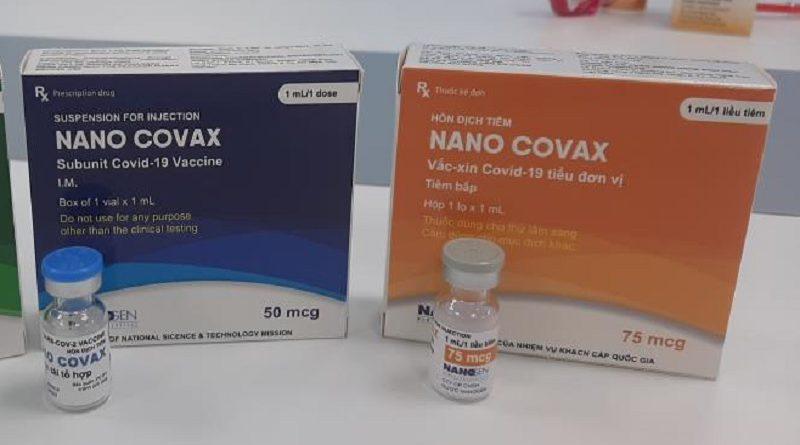 COVID-19 Nanocovax vaccine