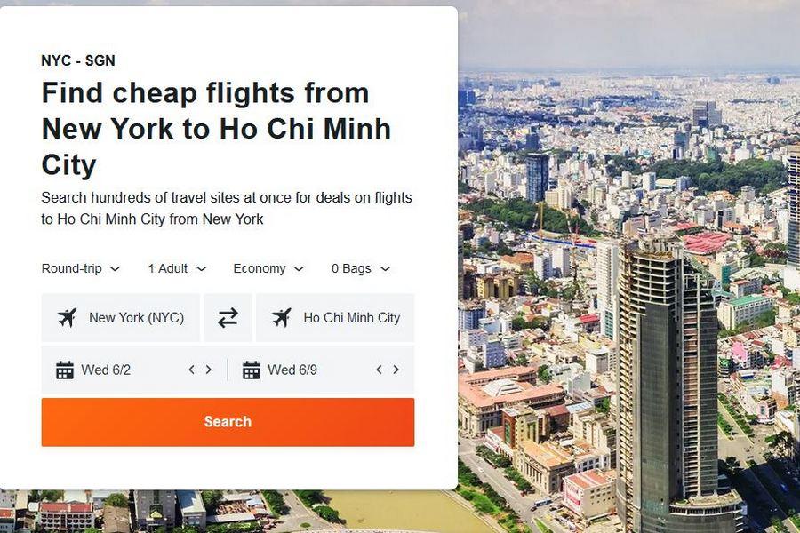 Schedule of expert flights to Vietnam from June to August